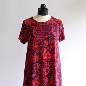 LuLaRoe Carly Geometric Print Dress